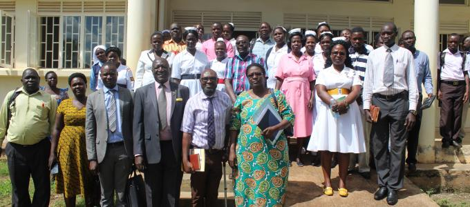 Health workers group photo